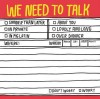 Hand-Lettered: We Need to Talk