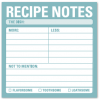 Recipe Notes: Sticky Notes