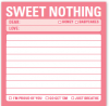 Sweet Nothing: Sticky Notes