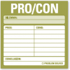 Pro / Con: Sticky Notes