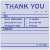 Thank you: Sticky Notes